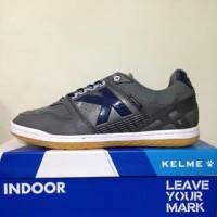 Produk Favorit - Sepatu Futsal Kelme Intense Dark Grey 55781-702 Orig