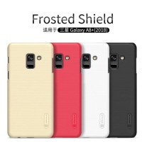 Samsung Galaxy A8+ Plus 2018 Nillkin Frosted Hardcase Free Anti Gores