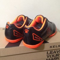 termurah Sepatu Futsal Anak Kelme Star 9 Junior Black Orange 1115244