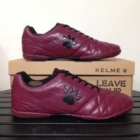 termurah Sepatu Futsal Kelme Power Grip Maroon Black 1102130 Original