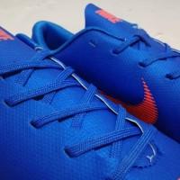 terlaris Sepatu Futsal Nike Mercurial Vapor XII Elite Blue Orange