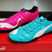 terlaris Sepatu Futsal Puma Evopower Tricks Blue Pink