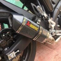Knalpot Racing Akrapovic Carbon Yamaha R15 New V3 VVA Xabre Vixion