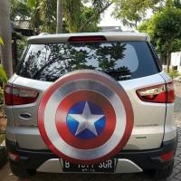Cover Ban/sarung ban serep kulit sintetis Mobil Terios Rush ecosport