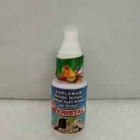 KRISTAL vitamin,suplemen burung meningkatkan kualitas suara merdu