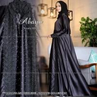 Abaya Pesta Azura Black Gamis Syari Dress Party Mewah