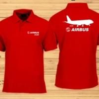 Baju Kaos Disto Airbus A320 hobi pesawat Size S M L XL 2XL 3XL 4XL