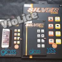 Tempered Glass SILVER Samsung Tab 3V Anti Gores Kaca