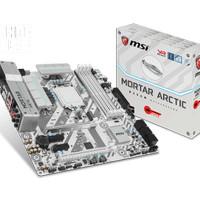 MSI B250M MORTAR ARCTIC MOTHERBOARD DDR4 M2 LGA 1151 Intel Gen 6th 7th
