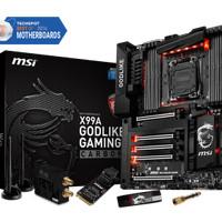 MSI X99A GODLIKE GAMING CARBON MOTHERBOARD LGA2011-3 8 DDR4 5 PCIE x16