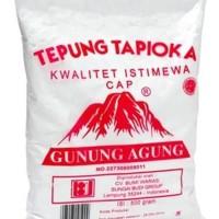 Tepung tapioka cap Gunung Agung sagu 500 gram