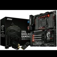 MSI X99A GODLIKE GAMING CARBON (LGA2011v3, X99, DDR4) Murah