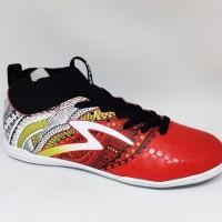 Sepatu Futsal Specs Original Heritage In Emperor Red/Black/ Gold New