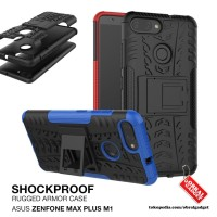 Armor Case Asus Max Plus M1 ZB570TL Hard & Soft Softcase Casing Cover