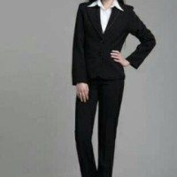 Blazer Formal Wanita (Hitam) Big Size Jumbo