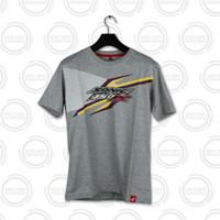 Honda ORI Sonic Grey Sporty Stylish T-Shirt Kaos Pria - GREY ABU