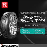 Ban Mobil Bridgestone Turanza T005A 195/65 R15 Vocer