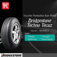 Ban Mobil Bridgestone New Techno TECAZ 185/60 R15 (Vocer)