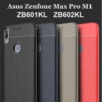 Asus Zenfone Max pro m1 ZB601KL ZB602KL Leather Auto Focus case