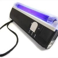 Money Detector Lampu UV Pendeteksi Uang Palsu Money Detektor Portabel