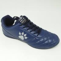 Sepatu futsal / putsal footsal Kelme original Power Grip navy/silver