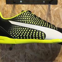 Sepatu futsal / putsal footsal puma original Adreno 3 IT black stabil