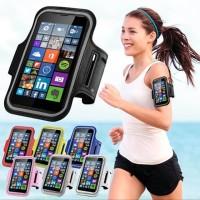 Sport Armband Case Tas Lengan Handphone Arm Band Jogging Gym HP 5,5