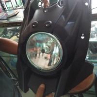 Cover badong lampu depan yamaha x ride xride
