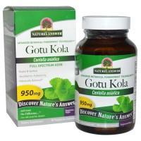 Nature's Answer, Gotu Kola, 950 mg, 90 Veggie Caps