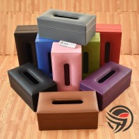 PREMIUM QUALITY TISSUE BOX Tempat Tisu Kulit Oscar Mobil Rumah Kantor
