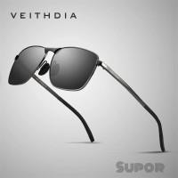 AV02 Kacamata Sunglasses Veithdia ORI Polaroid Pria kacamata Polarized