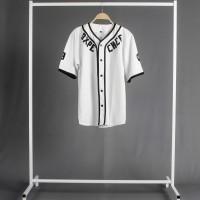 Baju baseball / kemeja baseball / kemeja pria / kemeja wanita / kaos