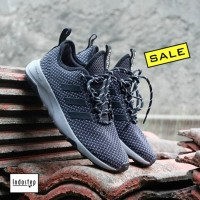 Sepatu ORIGINAL Adidas Cloudfoam Superflex Dark Grey Black