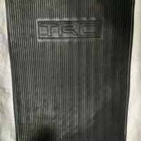Lembaran Karet / Karpet karet TRD / karpet lantai mobil TRD