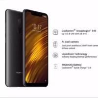 Xiaomi POCOPHONE F1(6/128GB) - Garansi Resmi - [128/6Gb] - Black