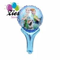 Balon foil pentunga / balon tongkat karakter frozen
