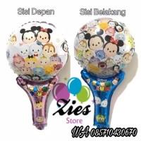 Balon foil pentunga / balon foil tongkat tsum tsum
