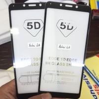 TEMPERED GLASS FULL LEM 5D FOR XIAOMI REDMI 6A 2018 READY BLACK