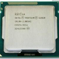 PROSESOR LEPTOP KOMPUTER Processor Intel G2020 Tray + Fan Original