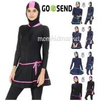 Baju Renang Muslim Wanita Muslimah Perempuan Dewasa ES-ML-DW-206