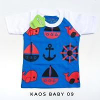 6 12 bulan baju kaos anak laki-laki baby 9