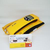 Telepon Rumah Sahitel S-35 Kuning Telpon Kabel Sahitel S35 - Yellow
