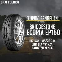 Ban Mobil Bridgestone ECOPIA EP150 185/70 R14 *KUPON*