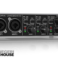 Behringer Uphoria UMC204HD 2x4 24Bit 192kHz USB Audio Interface