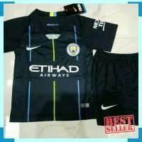 Jersey Baju bola Anak / Kids MANCHESTER CITY AWAY 2018/19 - GRADE ORI