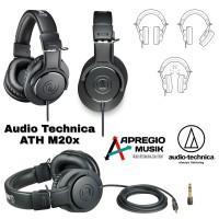 Headphone Flat Monitoring Audio technica ATH M20X