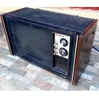 TV Jadul Merk National Kondis ON Barang Antik Televisi Vintage Kuno