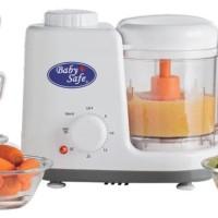 Baby Safe Food Maker Steamer and Blender / Blender Makanan Bayi