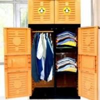 lemari plastik, lemari pakaian naiba gantung