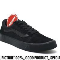 Sepatu Vans Old School Full Black Impor Quality
